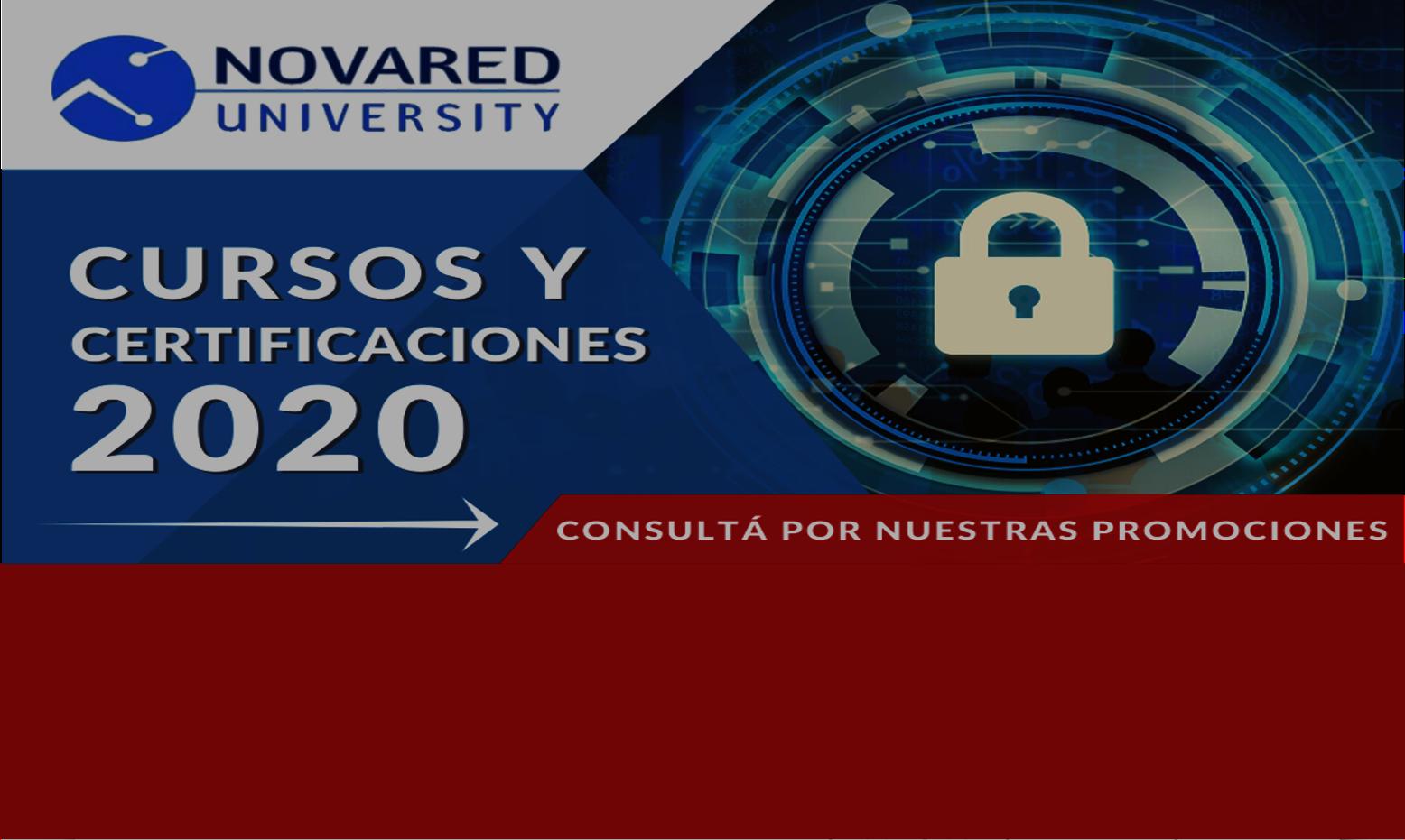 Calendario de Cursos Novared University
